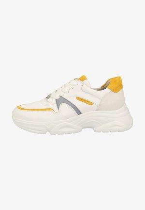Sneakersy niskie - white/mango