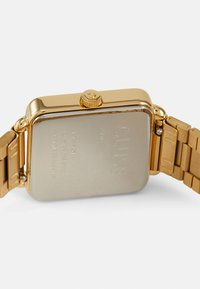 Cluse - LA TETRAGONE - Watch - gold-coloured/white - 2