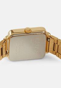 Cluse - LA TETRAGONE - Klokke - gold-coloured/white - 2
