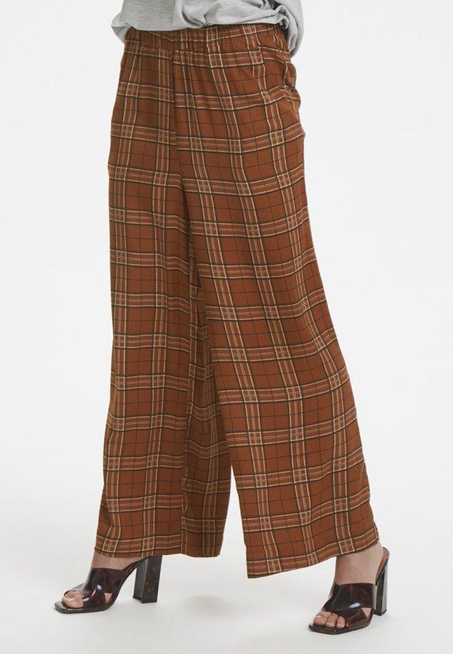 MICHIGANKB - Kalhoty - camel