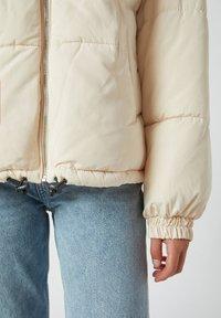 PULL&BEAR - Winter jacket - beige - 5