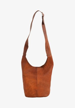 Taška spříčným popruhem - brown