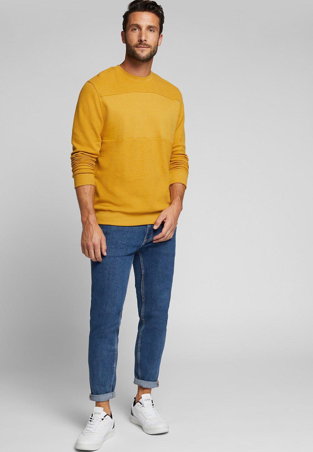 Esprit Sweatshirt amber yellowsenf Zalando.at