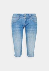 Pepe Jeans - VENUS CROP - Džínové kraťasy - denim - 4