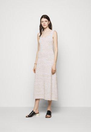 BIGLIA - Pletené šaty - beige