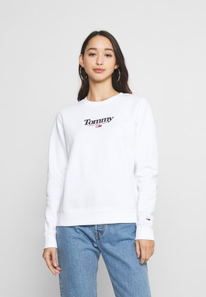 ESSENTIAL LOGO CREW - Sweatshirt - white