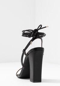 RAID - TERESA - High heeled sandals - black - 5