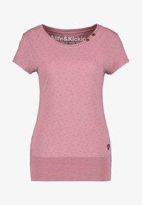 alife & kickin - Print T-shirt - lavender - 5