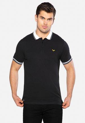 DECKER - Polo shirt - black