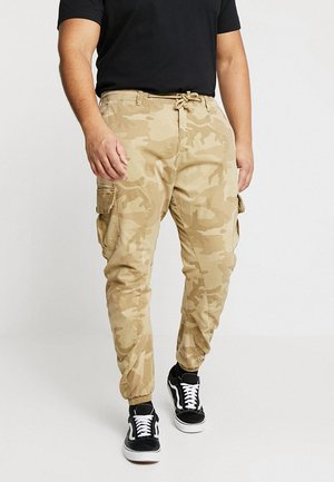 PANTS - Cargo trousers - sand