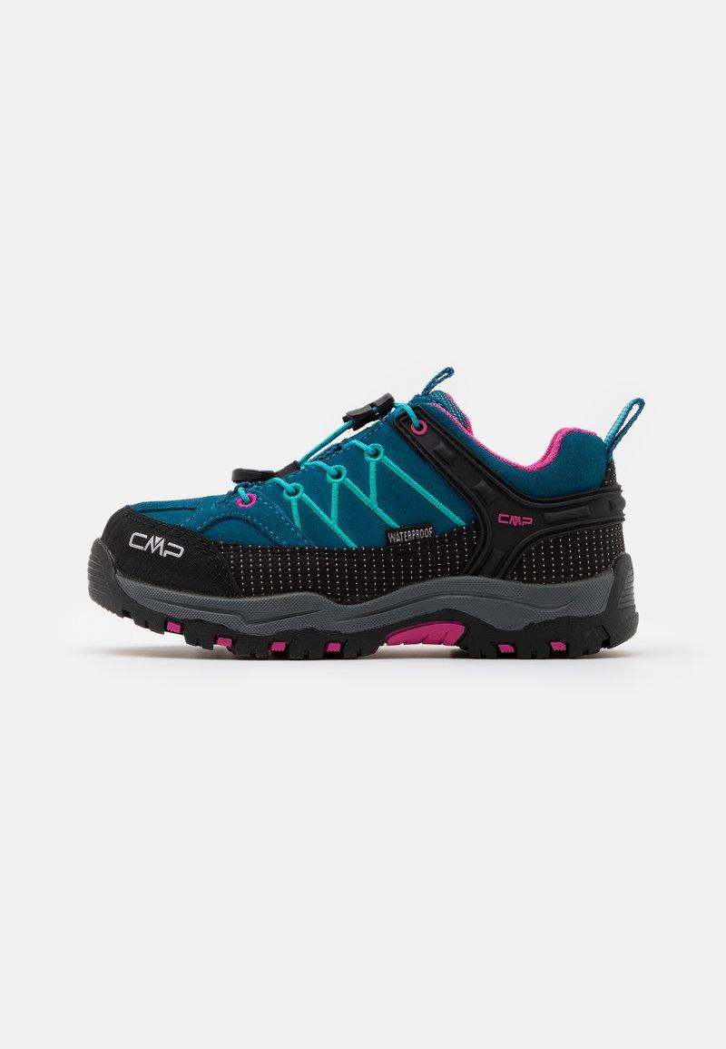 CMP - KIDS RIGEL LOW TREKKING SHOES WP - Hiking shoes - deep lake/baltic