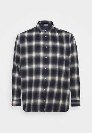 JJEPLAIN CHECK - Shirt - dusty olive