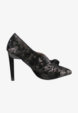 EL CABALLO - Zapatos altos - metallic black