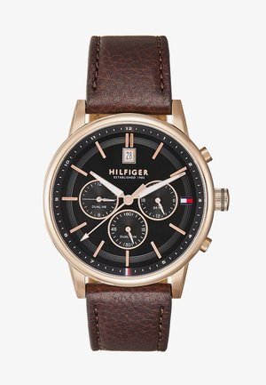 KYLE - Chronograph watch - brown/blue