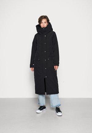 OBJKATIE LONG COAT - Classic coat - black