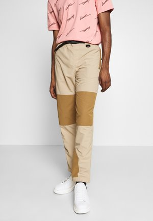 Teplákové kalhoty - viennese/leafy