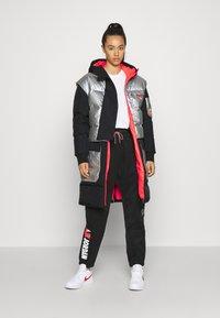 Jordan - Down coat - black/silver - 1