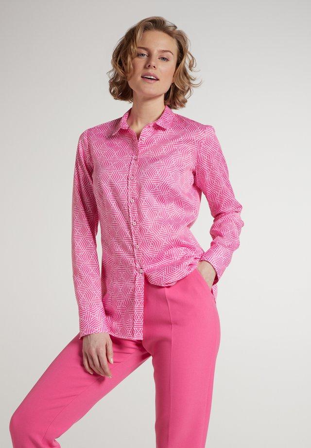 MODERN CLASSIC - Overhemdblouse - pink/weiss