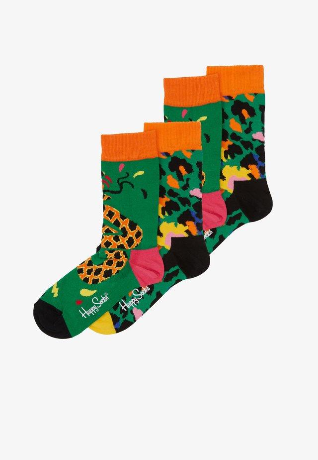 TROPICAL SNAKE LEOPARD SOCK 2 PACK - Sokker - multicoloured