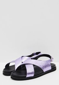 myMo - Sandalias - purple metallic - 3