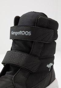 KangaROOS - K-FLOSSY RTX - Winter boots - jet black/steel grey - 2