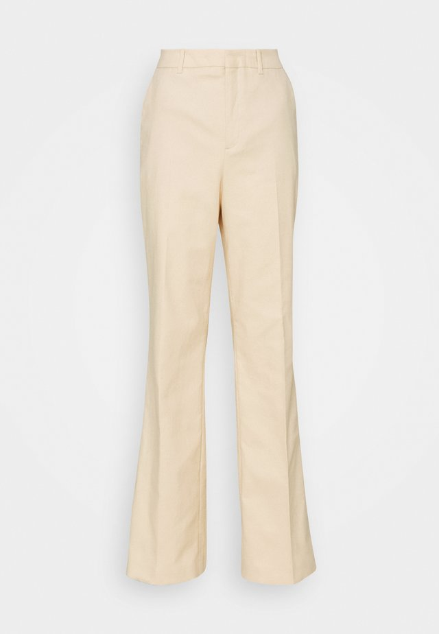 BYDE - Trousers - sand