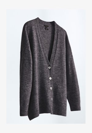 MIT KNÖPFEN  - Cardigan - dark grey