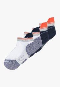 camano - ONLINE CHILDREN FASHION 4 PACK - Ponožky - blue - 0
