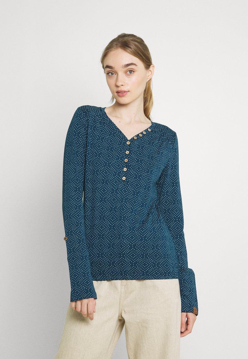 Ragwear - PINCH STARS - Long sleeved top - denim blue