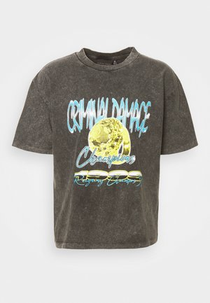 1999 CHAMPIONS  - Camiseta estampada - washed black