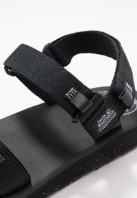 Jack Wolfskin - OUTFRESH - Walking sandals - black/light grey - 5