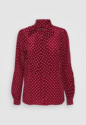 MINI MED BLOUSE - Skjortebluser - maroon