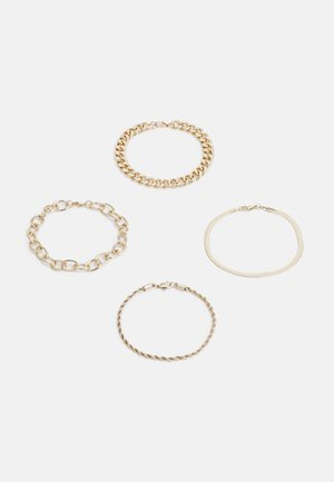 MIX CHAIN 4PACK - Bracciale - gold