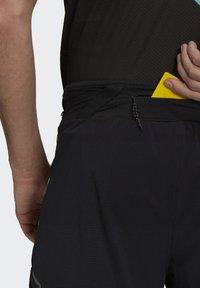 adidas Performance - Agravic PRO SHORT TECHNICAL AEROREADY TRAIL RUNNING SHORTS - Shorts - black - 5