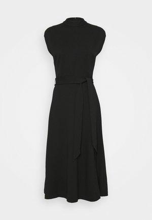 DRESSELLA - Žerzejové šaty - black