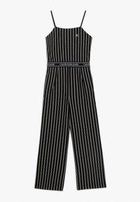 Calvin Klein Jeans - CITY STRIPE STRAP - Jumpsuit - black - 0