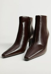 Mango - MOON - Classic ankle boots - chocolat - 2
