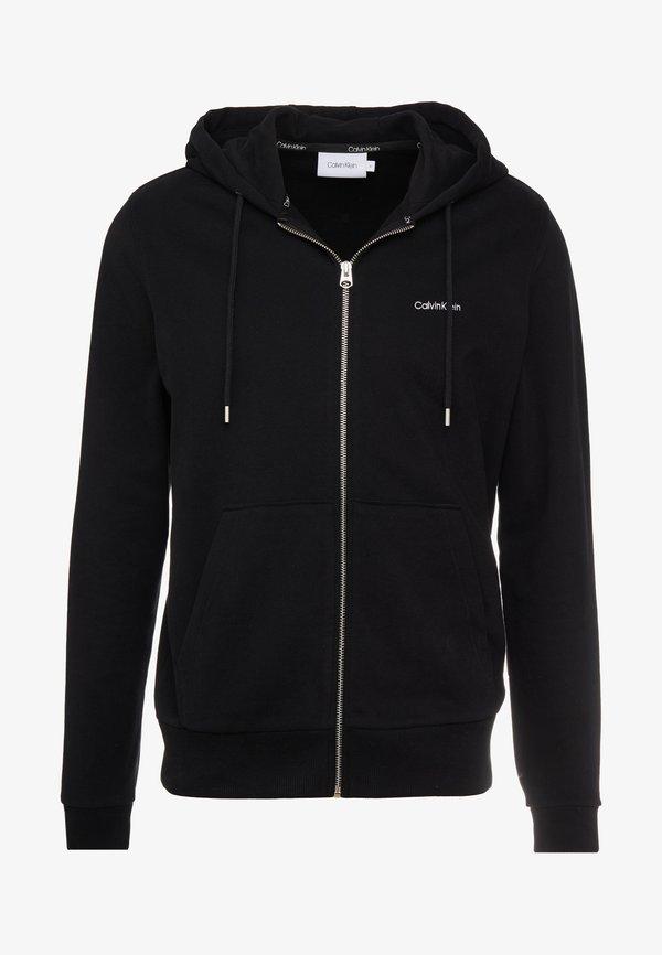 Calvin Klein Bluza rozpinana - black/czarny Odzież Męska JBXE