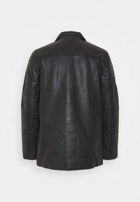 Schott - MAIN - Leather jacket - black - 1