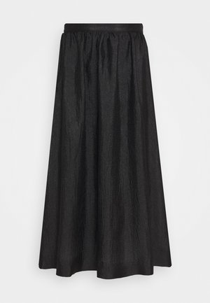 PHINE - Maxi skirt - black