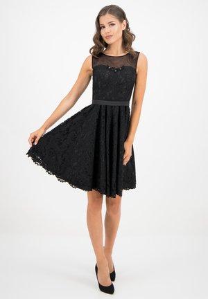 PLISSIERTES - Cocktail dress / Party dress - schwarz