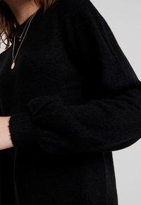Object - OBJEVE NONSIA - Pletené šaty - black - 6