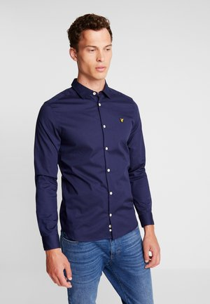 SLIM FIT  - Camicia - navy