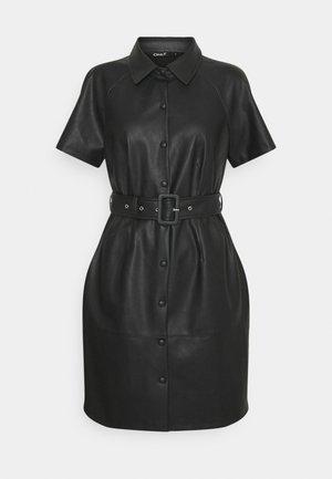 ONLDIZZY  FAUX DRESS  - Abito a camicia - black