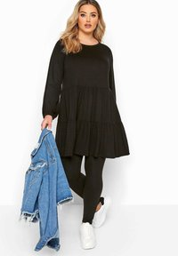 Yours Clothing - Long sleeved top - black - 1