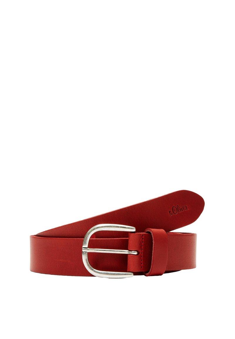 s.Oliver - Belt - red