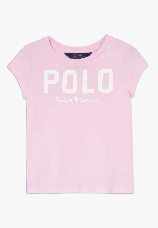 ICON  - Print T-shirt - carmel pink