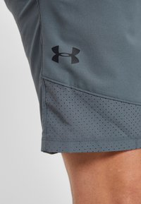 Under Armour - VANISH SHORT NOVELTY - Sports shorts - pitch gray/black - 3