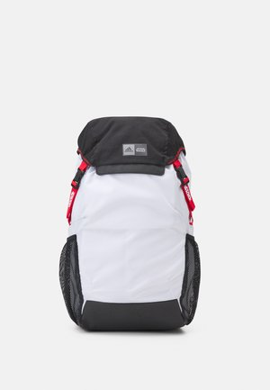 Rucksack - white/black/vivid red