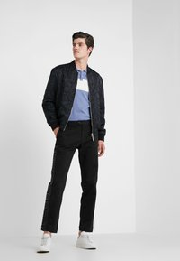 Versace Collection - PANTALONI TESSUTO - Trousers - nero - 1